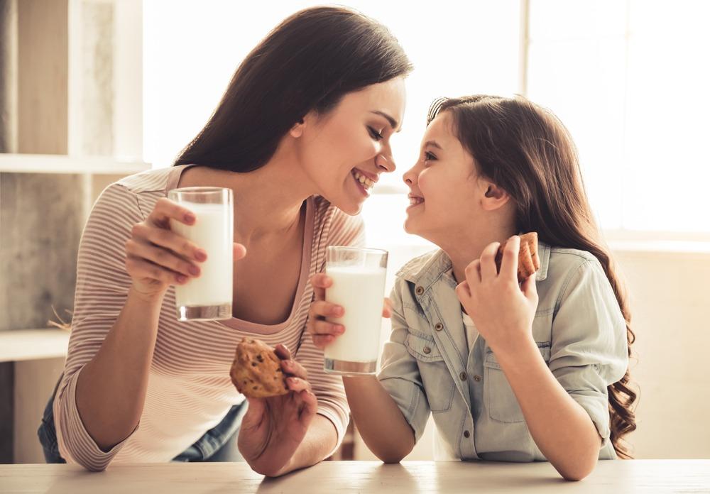 Потребление молока