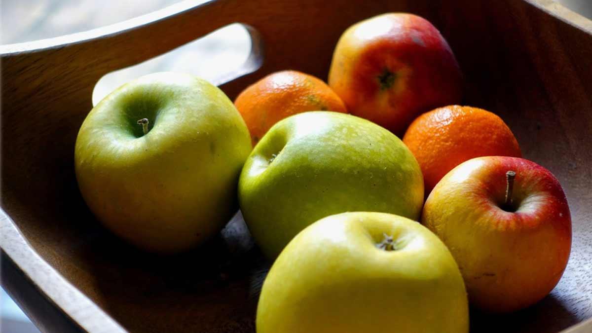 Разница между ценами на яблоки в Польше и Украине