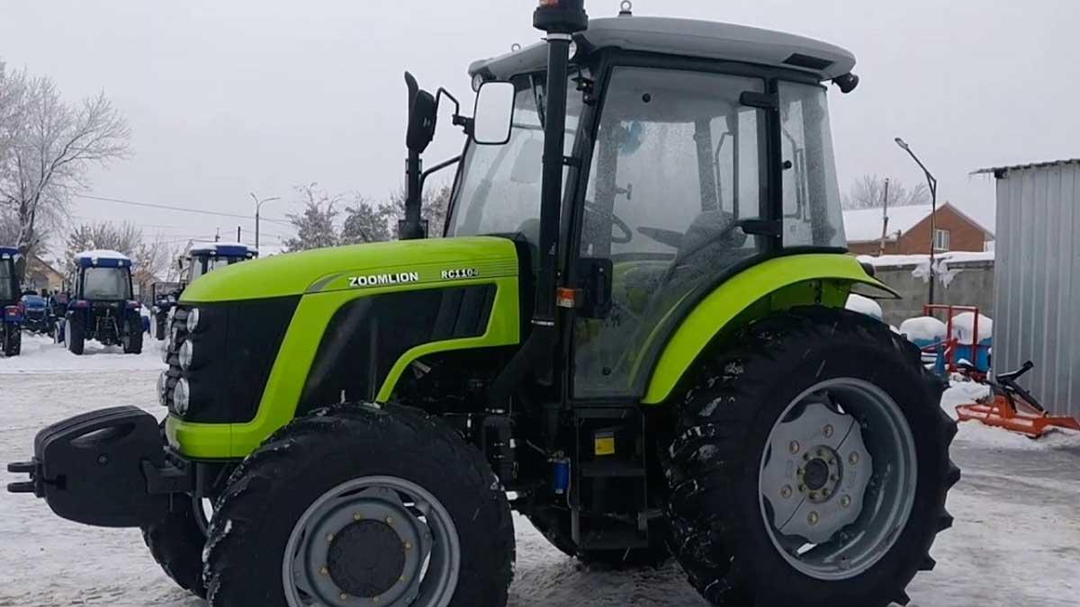 трактор ZOOMLION RС-1104